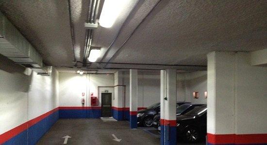 La utilización de la iluminación con LEDs en Parkings permite importantes ahorros