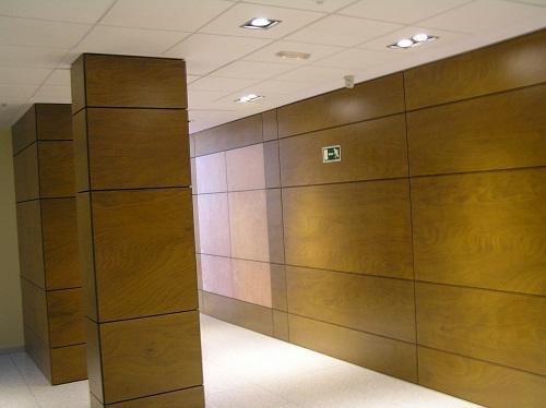 Downlight led para pasillo de un edificio